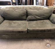 BTV green couch