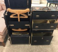 Barre steamer trunk