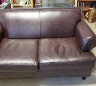 HP leather couch