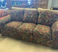 Will floral couch
