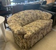 Will floral loveseat