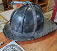 HP fire helmet