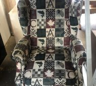 BTV wing chair