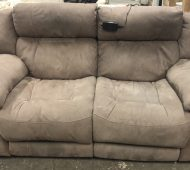 BTV tan couch
