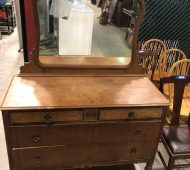 Bare antique dresser