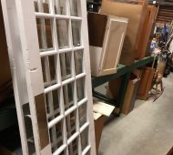 Barre french doors