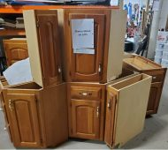 HP cherry cabinets